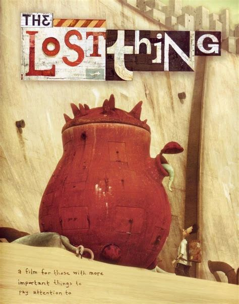 the lost thing picture book book review year 4 literacy class review the lost