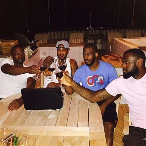 banana boat and lebron lebron james rides banana boat with dwyane wade chris
