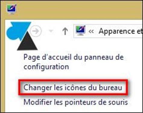 icone bureau windows 8 remettre l ic 244 ne de la corbeille sur le bureau