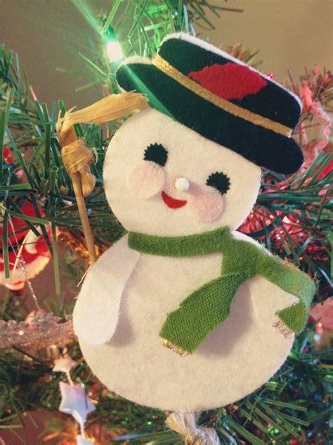 frosty snowman christmas tree ideas ornamental memories 4tunate