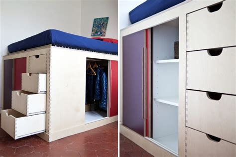 Un Lit Dressing Pour Mon Petit Espace Architecture