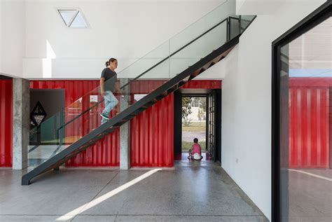 House Floor Plans With Loft container house by jos 233 schreiber arquitecto