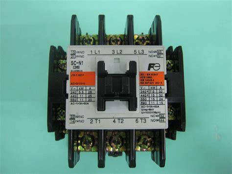 Contactor Fuji Sc N1 h 236 nh ảnh của contactor fuji sc n1 contactor