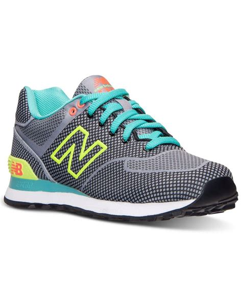 macys athletic shoes new balance s 574 casual sneakers from finish line