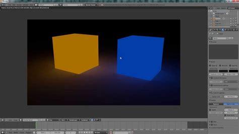 tutorial blender lighting blender tutorial make object emit light blender render