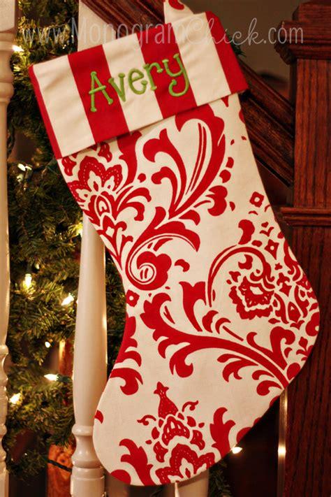 monogrammed christmas stockings christmas stockings monogrammed stockings personalized