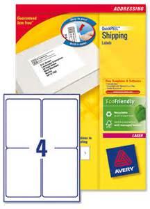 avery l7169 laser labels 139x99 1mm ref l7169 250 250