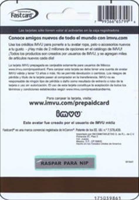 Imvu Gift Card - gift card imvu rosa 150 imvu mexico col mex imvu 003a