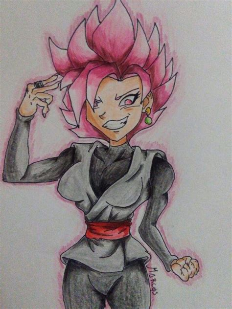 imagenes de goku mujer goku black ssj rose mujer dragon ball espa 209 ol amino