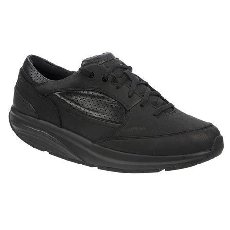 mbt mens boots mbt rasul leather mens walking shoes black