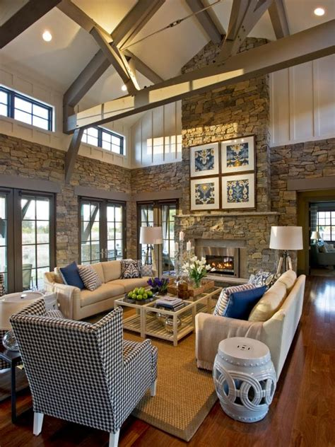 cottage great rooms photo page hgtv