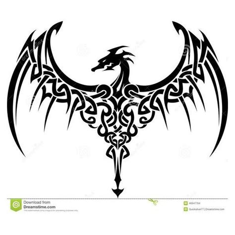 simple celtic dragon designs www imgkid com the image