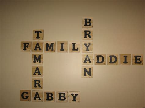 family scrabble my family scrabble wall decor craftiliciousness