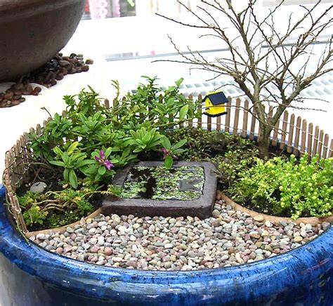 miniature garden study patios and pathway materials the