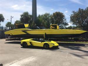 Lamborghini 3 Million 1 3 Million Dollar Lamborghini Speedboat