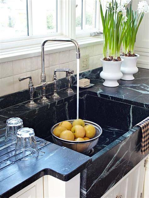 Kitchen Soapstone Countertops by Soapstone Sink Transitional Kitchen Bhg