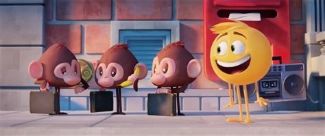 emoji film scenes the emoji movie opening scene