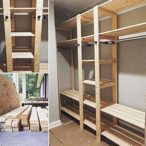 slat closet  anna white concept closet bedroom