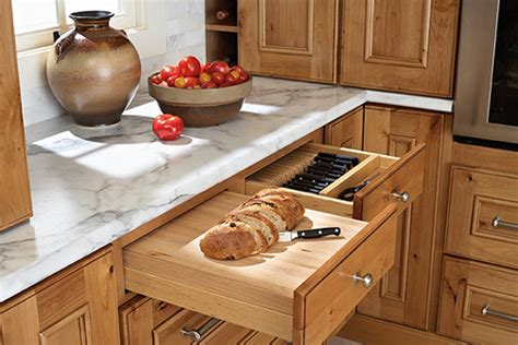 heavy duty bread board knife drawer insert kitchen