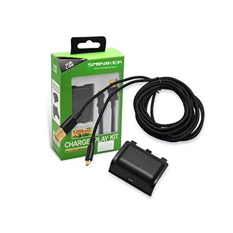 Charging Kit Pack For Xbox Controller sminiker for xbox one controller battery pack charger