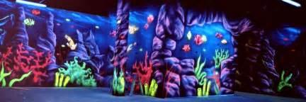 Blacklight Wall Murals blacklight murals flying colors murals