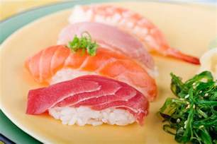 choosing fish and seafood for sushi or sashimi