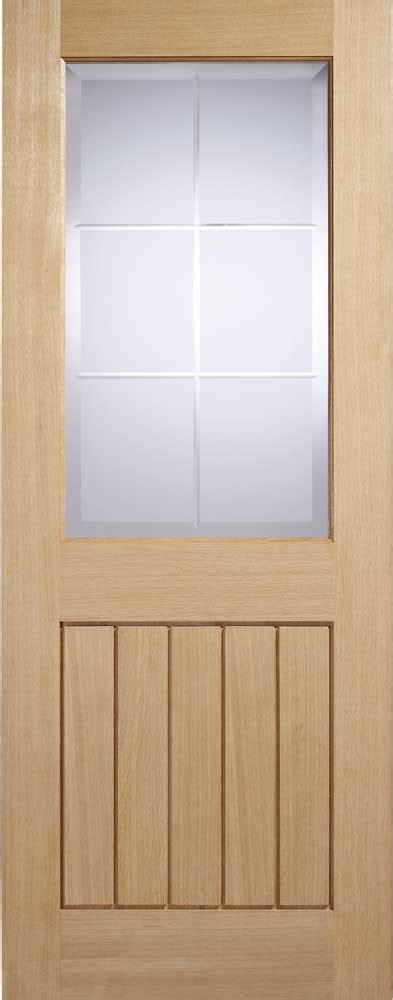 Interior Door With Half Glass by Oak Mexicana Half Glass Doors