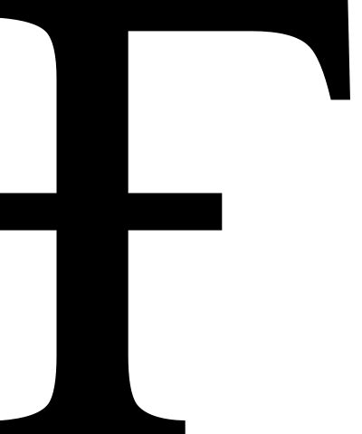 File Latin Capital Letter F With Hook In Ara Svg