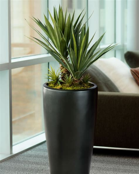 fake plants for home decor distinctive agave americana artificial succulent for home