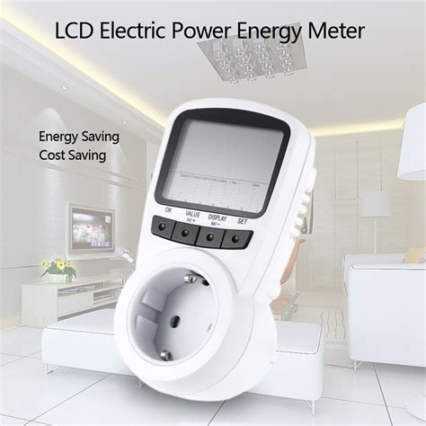 Watts Up Power Usage Monitor by Digital Wattmeter Lcd Power Meter Watt Meter Energy