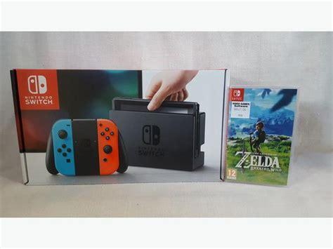 Best Seller Nintendo Switch Neon Garansi Resmi Nintendo Termurah nintendo switch neon console with breath of the bilston wolverhton