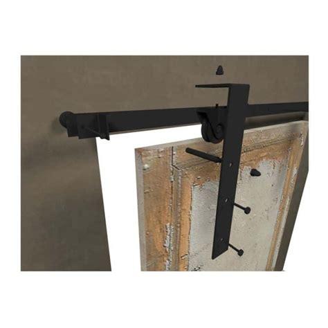 kit porta scorrevole esterno muro kit binario per porta scorrevole lefabric 2000 mm finitura