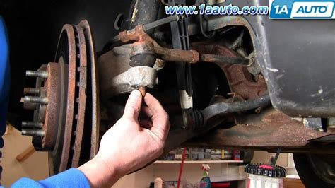 How To Install Replace Steering Outer Tie Rod End Ford