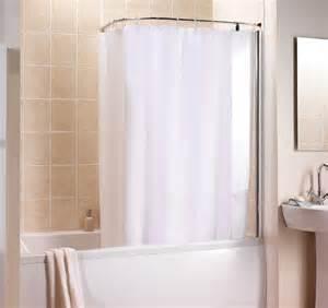 bathroom shower rails shower curtain rails
