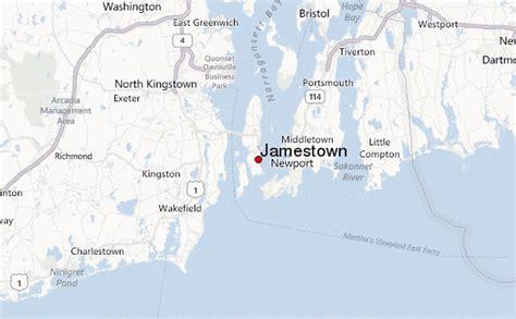 usa map jamestown jamestown rhode island location guide