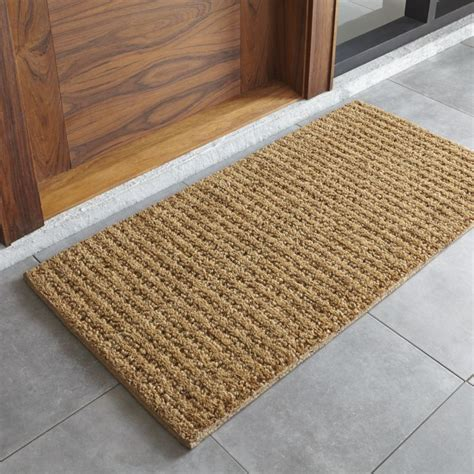 Dining Room Consoles natural coir doormat crate and barrel