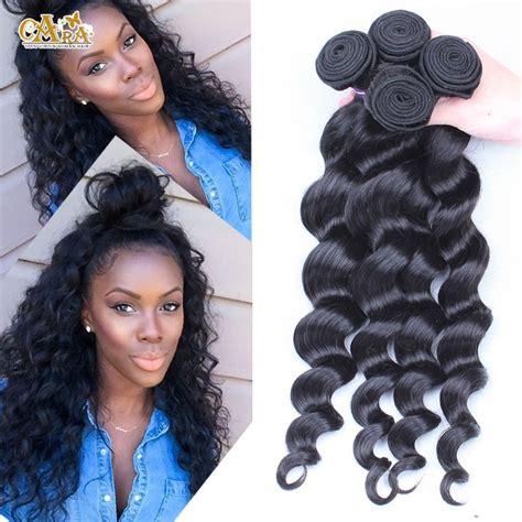 types of weave hairstyles peruvian virgin hair bundles 3pcs 6a unprocessed human