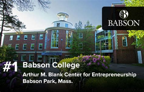 Babson Mba Application Login by The 25 Best Undergraduate Programs For Entrepreneurship In