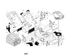 Honda Hrr2169vka Parts Husqvarna Lawn Mower Parts Model 917374450 Sears