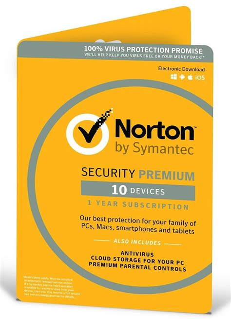 Norton Security 3 User norton security 3 0 premium multi device 10 user 1 year 2018 retail box ebay