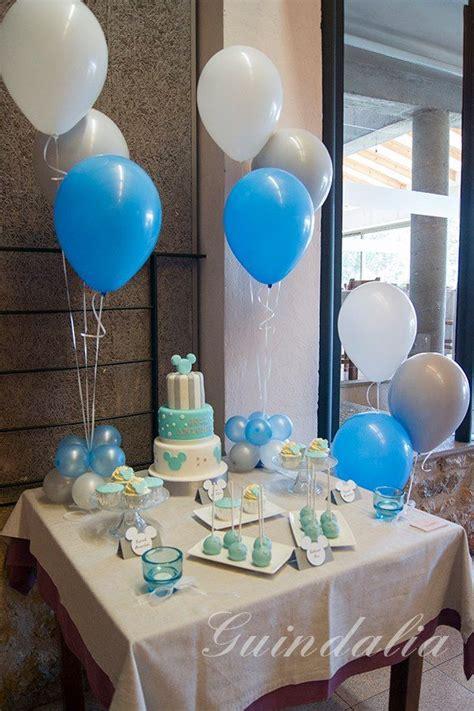 mesa para bautizo baby shower
