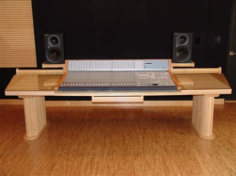 Audiomachine Custom Furniture Steven Klein S Sound Custom Studio Desk