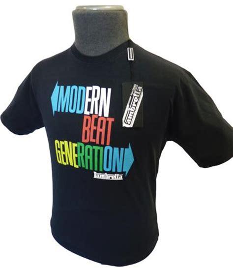 lambretta beat generation t shirt mens lambretta tees at