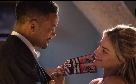 will smith hairstyle in focus will smith and margot robbie are clueless about their