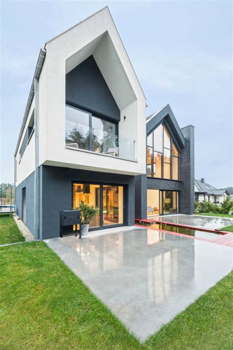 Make A Floor Plan Of Your House Contemporary Family Home In Poland Will Give Your Ideas