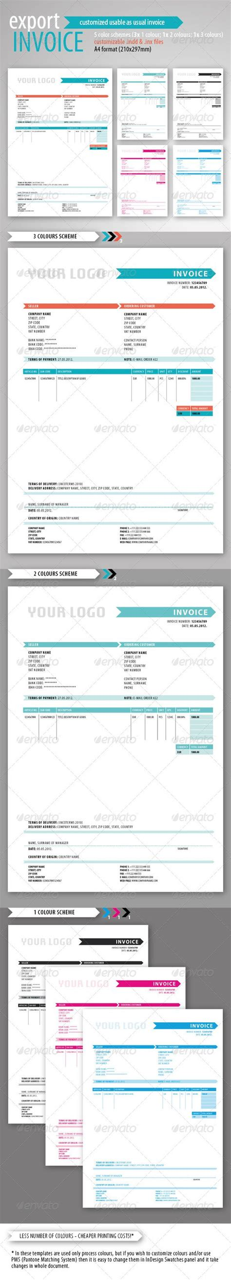 export invoice template delivery invoice template green invoice template and