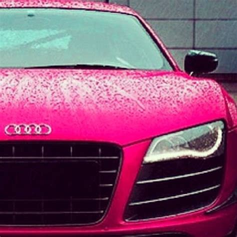 pink audi pink audi r8 cars pinterest rain cars and dream cars