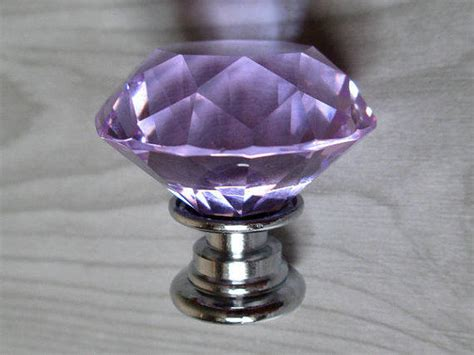 Glass Knobs For Drawers by Lavender Glass Knobs Dresser Knobs From Lynnsgraceland