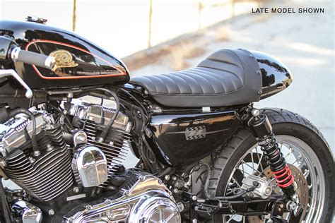 cafe racer tail section cafe tail section for sportsters seats burly brand