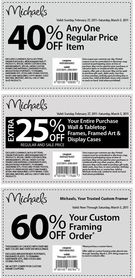 michaels printable coupons 2014 etsy coupons 40 coupon code discounts for march 2014